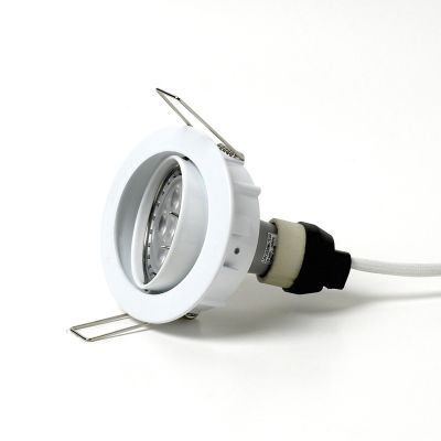 LED downlight 504 Ställbar 230V Vidarekoppling