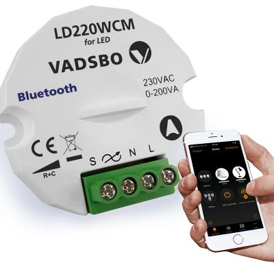 Vadsbo Dimmer puck Casambi 200W
