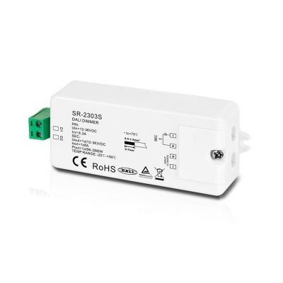 LED dimmer PWM DALI 8A