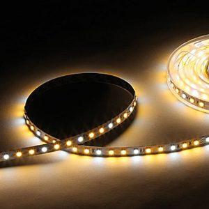 Dynamisk hvid LED bånd