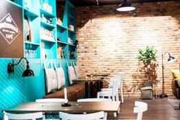 belysning cafe
